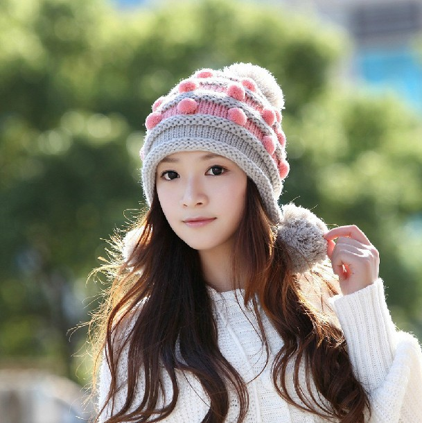 Girl With Winter Hats DP