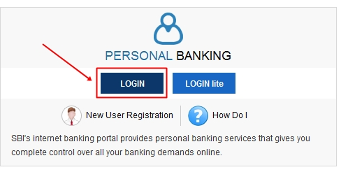 Reset forgot Online SBI Login NetBanking Password