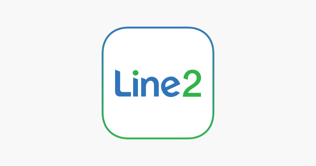 line2 temp mobile number