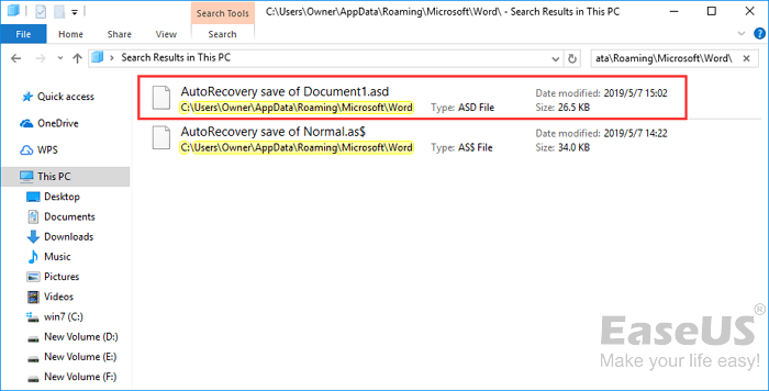 copy that unsaved document